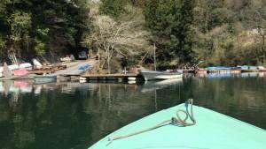 相模湖の渡船
