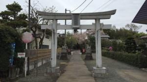御嶽神社・磯部城