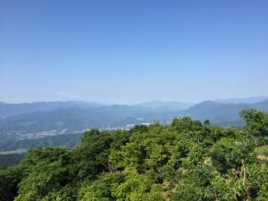 陣馬山からの展望