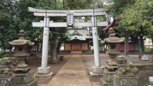 御嶽神社(矢部)