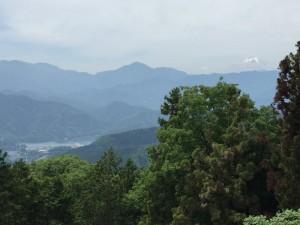 景信山烽火台から見える富士山
